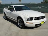 2006 Performance White Ford Mustang V6 Premium Coupe #48233405