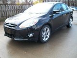 2012 Tuxedo Black Metallic Ford Focus SEL Sedan #48268850