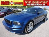 2007 Vista Blue Metallic Ford Mustang GT Deluxe Coupe #48268854