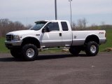 2002 Oxford White Ford F250 Super Duty XLT SuperCab 4x4 #48268653