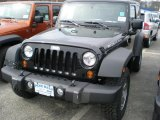 2011 Black Jeep Wrangler Rubicon 4x4 #48268322