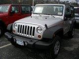 2011 Bright Silver Metallic Jeep Wrangler Sport 4x4 #48268331