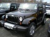 2011 Black Jeep Wrangler Sahara 4x4 #48268335