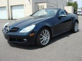 2005 Mercedes-Benz SLK Caspian Blue Metallic