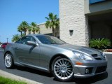 2010 Mercedes-Benz SLK Palladium Silver Metallic