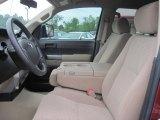 2010 Toyota Tundra CrewMax Sand Beige Interior