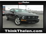 2007 Black Ford Mustang V6 Premium Coupe #48268920