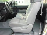 2007 Toyota Tundra Regular Cab 4x4 Graphite Gray Interior