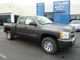 2011 Taupe Gray Metallic Chevrolet Silverado 1500 LS Extended Cab 4x4 #48268574