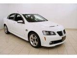 2009 White Hot Pontiac G8 Sedan #48233700