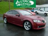 2009 Sport Red Metallic Pontiac G8 GT #48268942