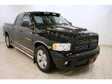 2003 Black Dodge Ram 1500 SLT Quad Cab #48233701