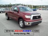 2007 Salsa Red Pearl Toyota Tundra SR5 Double Cab 4x4 #48268732