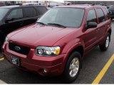 2006 Redfire Metallic Ford Escape Limited #48233710
