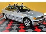 2003 Titanium Silver Metallic BMW 3 Series 325xi Sedan #48268745