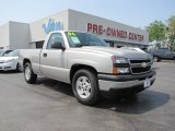 2006 Silver Birch Metallic Chevrolet Silverado 1500 LS Regular Cab #48268760