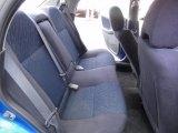 2002 Subaru Impreza WRX Sedan Black Interior