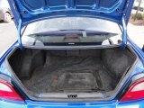 2002 Subaru Impreza WRX Sedan Trunk