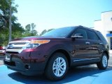 2011 Bordeaux Reserve Red Metallic Ford Explorer XLT #48328364