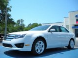 2011 White Suede Ford Fusion SE #48328373
