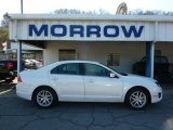 2010 White Platinum Tri-coat Metallic Ford Fusion SEL V6 #48328378