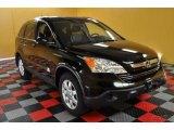 2009 Crystal Black Pearl Honda CR-V EX-L 4WD #48328727