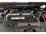 2009 Honda CR-V EX-L 4WD 2.4 Liter DOHC 16-Valve i-VTEC 4 Cylinder Engine