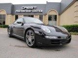 2008 Black Porsche 911 Carrera 4S Coupe #48328744
