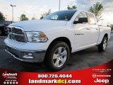 2011 Bright White Dodge Ram 1500 Big Horn Quad Cab #48328409