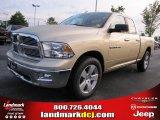 2011 White Gold Dodge Ram 1500 Big Horn Quad Cab #48328412