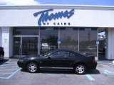 2000 Black Ford Mustang V6 Coupe #48328749