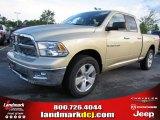 2011 White Gold Dodge Ram 1500 Big Horn Quad Cab #48328414