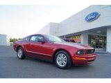 2007 Redfire Metallic Ford Mustang V6 Premium Coupe #48328418