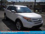 2011 White Platinum Tri-Coat Ford Explorer Limited 4WD #48328420