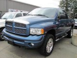 2004 Atlantic Blue Pearl Dodge Ram 1500 SLT Quad Cab 4x4 #48328957