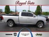2009 Bright Silver Metallic Dodge Ram 1500 Sport Quad Cab 4x4 #48328272