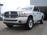 2006 Bright White Dodge Ram 1500 SLT Quad Cab 4x4 #48328782