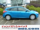 2012 Blue Candy Metallic Ford Focus SE 5-Door #48328289