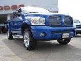 2007 Electric Blue Pearl Dodge Ram 1500 Sport Quad Cab 4x4 #48328794