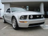 2005 Satin Silver Metallic Ford Mustang GT Premium Coupe #48328795