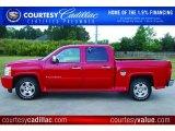 2008 Victory Red Chevrolet Silverado 1500 LT Crew Cab #48328799