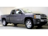2011 Taupe Gray Metallic Chevrolet Silverado 1500 LT Extended Cab 4x4 #48328808