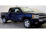 2011 Imperial Blue Metallic Chevrolet Silverado 1500 LT Crew Cab 4x4 #48328809