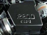 1998 Chevrolet S10 LS Extended Cab 2.2 Liter OHV 8-Valve 4 Cylinder Engine