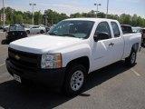 2011 Summit White Chevrolet Silverado 1500 Extended Cab #48328878