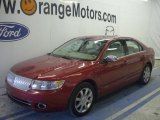 2008 Vivid Red Metallic Lincoln MKZ AWD Sedan #48387459