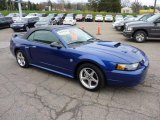 2004 Ford Mustang Sonic Blue Metallic