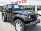 2011 Black Jeep Wrangler Sport S 4x4 #48387475