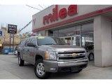 2008 Graystone Metallic Chevrolet Silverado 1500 LT Crew Cab 4x4 #48387772