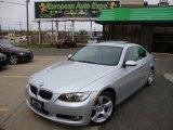 2007 Titanium Silver Metallic BMW 3 Series 328i Coupe #48387487